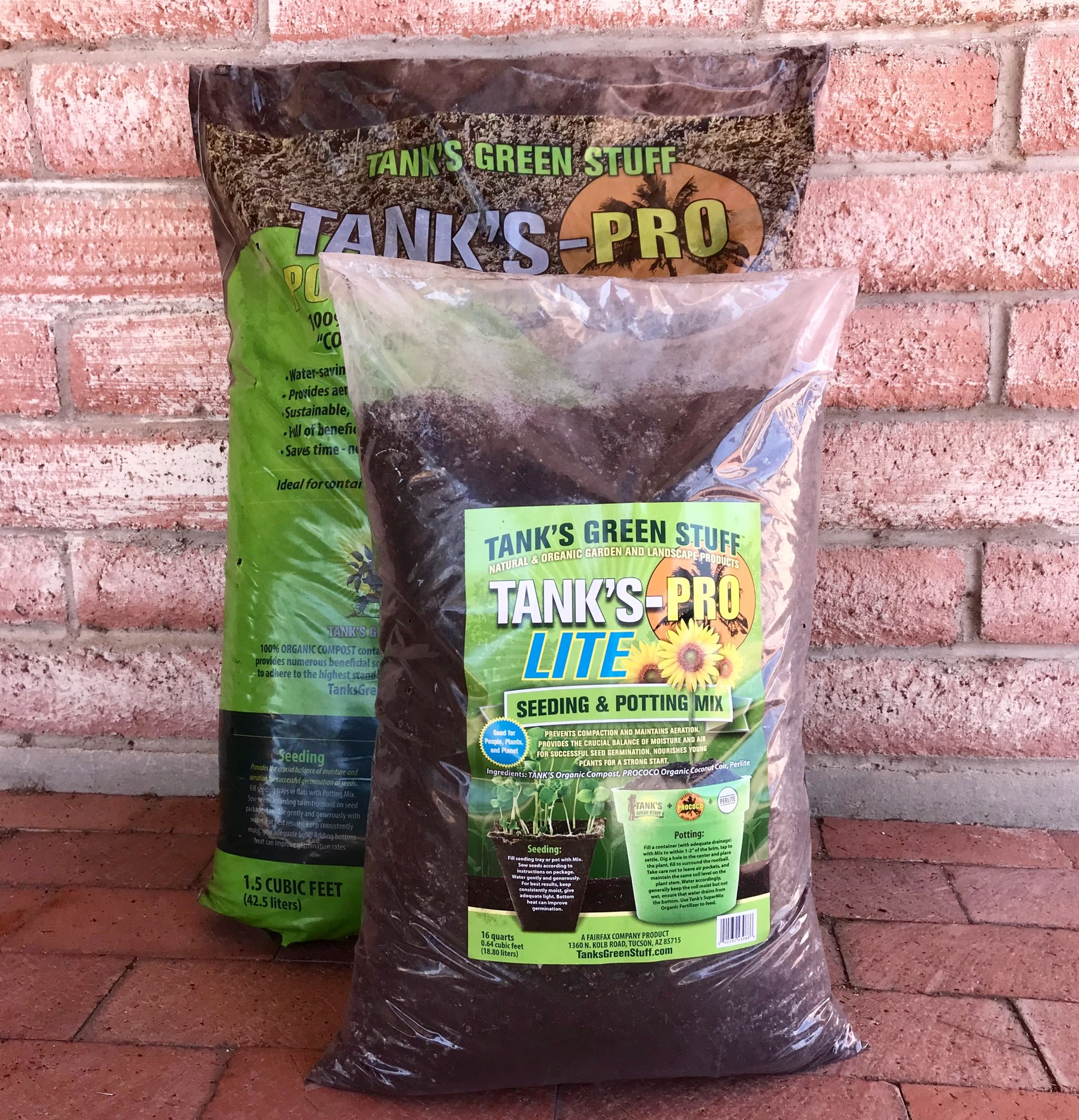 Recycled Landscape Materials for Garden & Lawn | Tank's
